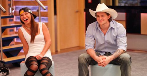 Kat and Emmett on Big Brother Canada