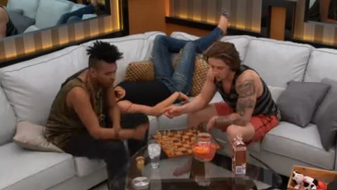 Gary and Emmett on Big Brother Canada