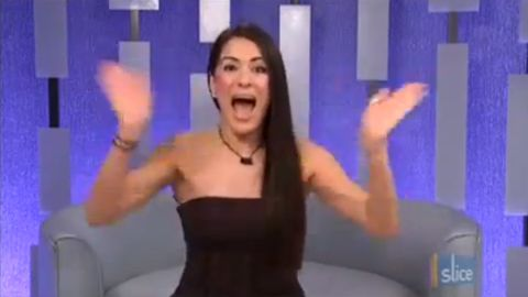 Talla casts her vote - Big Brother Canada