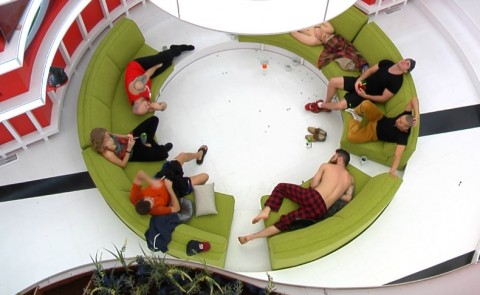 HGs relax in the living room
