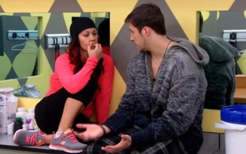 Jon and Sarah on Big Brother Canada