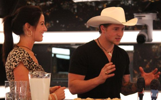 Jillian & Emmett on Big Brother Canada