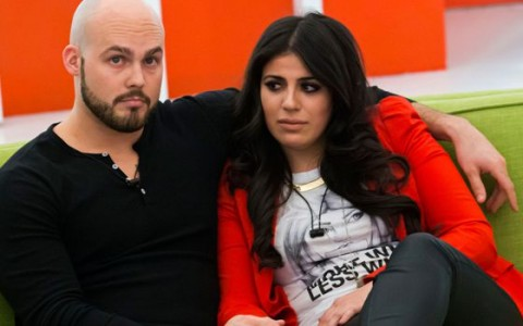 Andrew and Sabrina on Big Brother Canada