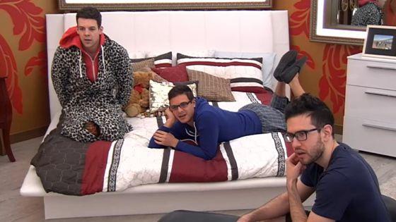 BBCAN3 Houseguests Kevin, Johnny, & Jordan