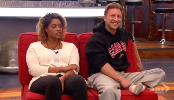 Brittnee and Bobby on the block on BBCAN3