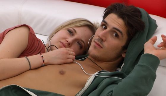 Ashleigh and Zach together in Big Brother Canada 3
