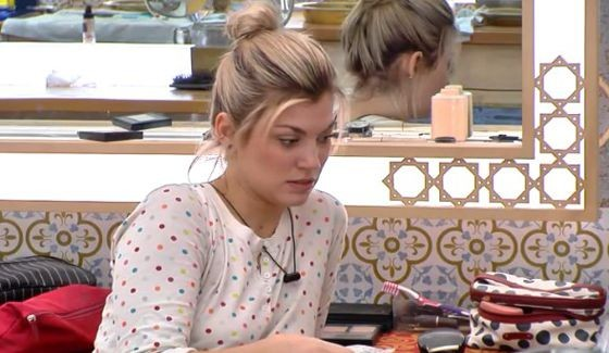 Kelsey looks worried about that eviction vote